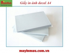 Giấy in ảnh decal A4