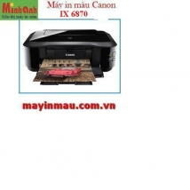 Máy in phun màu Canon Pixma IX6870