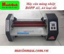 Máy cán màng nhiệt BOPP khổ A3, A4 loại tốt