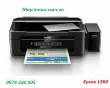 Máy in Phun 04 màu Đa năng Epson L360 (in, scan, copy) -Khổ A4 - dẫn hãng