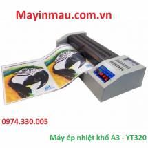 Máy ép Plastic Laminator YT320 - Khổ A3 loại tốt lô Silicon_4 lô