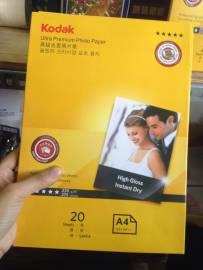 Giấy in ảnh kodak hộp màu vàng_20 tờ
