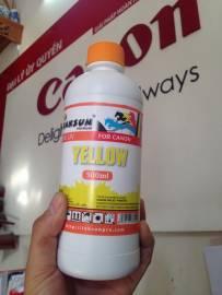 Inksun_Mực canon dye uv màu vàng - Yellow_Minh anh_Newway
