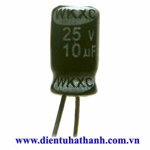 Tụ phân cực 10uF 25V 4x7mm