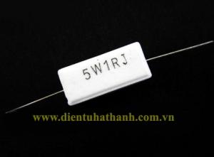 Điện trở công suất 5W 1RJ