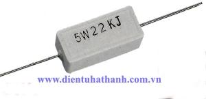 Điện trở công suất 5W 22KJ
