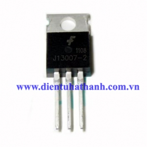 J13007 NPN TO220 400V 8A