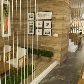 Tư vấn Thiết kế nội thất quán cà phê Coffe Trang.