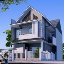 Thiết kế nhà biệt thự phố đẹp