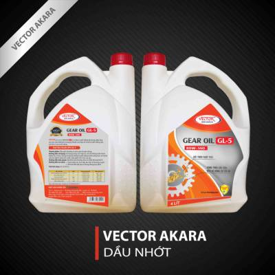 VECTOR AKARA GEAR OIL GL-5 85W-140 (4L)