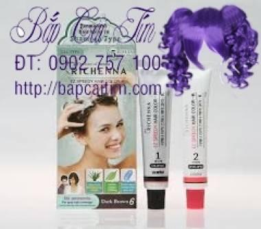 Bán thuốc nhuộm tóc thảo dược Hàn Quốc Richenna
