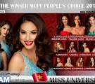 HHHV 2015: Phạm Hương dẫn đầu top 5 trên Miss Universe Poll