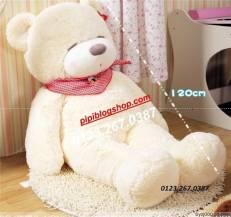 Gấu ngủ Teddy Boyds Trắng