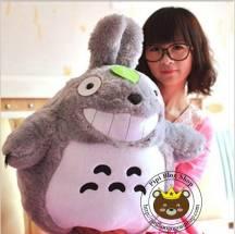 Gấu bông Totoro lông thẳng, mặt cười (nhìu size)
