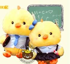 Vịt bông đi học Nhật bản (50cm)