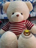 Gấu Hana áo len đỏ (1m2, 1m5)