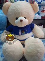 Gấu Hana áo line xanh (1m2, 1m5)