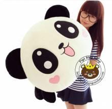Panda nằm, mặt trái tim