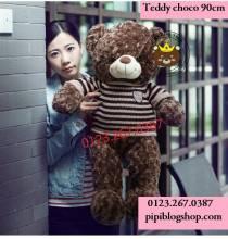 Gau Teddy Choco (90cm)