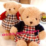 Gấu đầm áo khoác len (40cm)