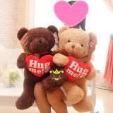 Gấu Teddy Baby ôm tim (80cm. 1m2)