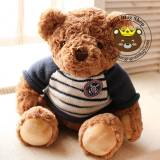 Gấu bông teddy logo hải quân (40cm, 50cm)