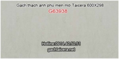 Gạch thạch anh phủ men mờ Taicera G63938