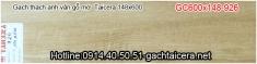 Gạch thạch anh vân gỗ Taicera GC600x148-926