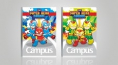Vở ôly Campus The Super Hero School 48 trang