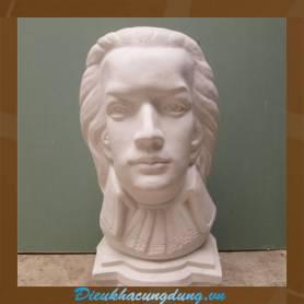 Tượng mẫu vẽ - tượng chân dung nam