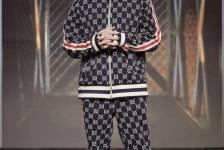 Bộ trang phục Gucci của rapper Người Lạ Ơi  trên Sân Khấu Rap Việt