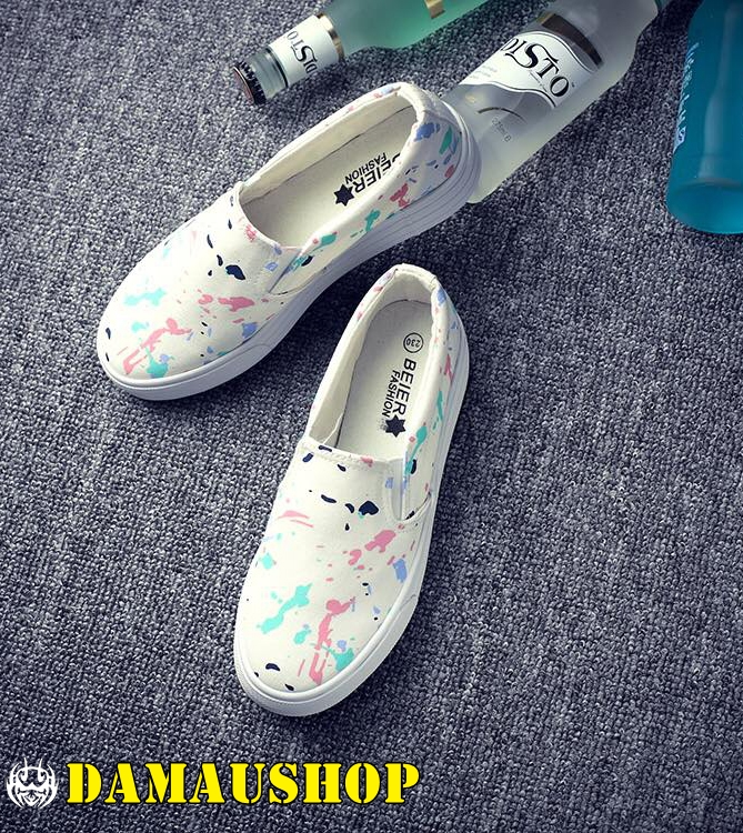 Giày Slip On Galaxy 027