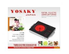 Bếp hồng ngoại 2 vòng nhiệt Nhật Bản Yosaky HD-01