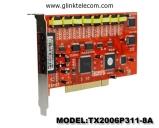 Card ghi âm điện thoại 8 line Tansonic TX2006P311(8A)
