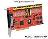Card ghi âm điện thoại 16 line Tansonic TX2006P312-16A