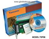 Card ghi âm điện thoại 8 line Tansonic T5P08