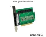 Card ghi âm điện thoại 16 line Tansonic T5P16