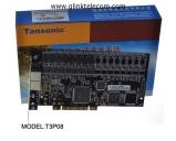 Card ghi âm điện thoại 8 line Tansonic T3P08