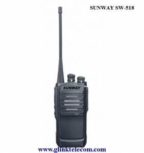 Bộ đàm cầm tay SUNWAY SW-518 VHF