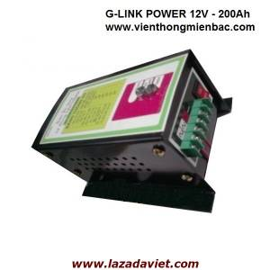 Sạc ắc quy tự động G-LINK Power 12V-200Ah