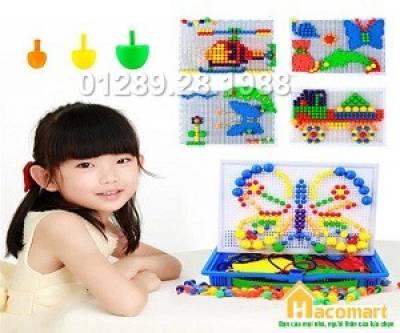 Bộ đồ chơi xếp hình cho bé