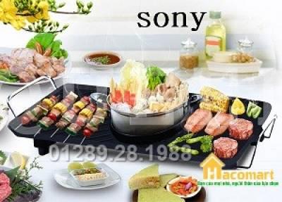 Bếp lẩu nướng đa năng Sony BBQ Queen Grill 915L