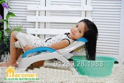 Ghế gội đầu cho bé Việt Nhật loại có tay vịn