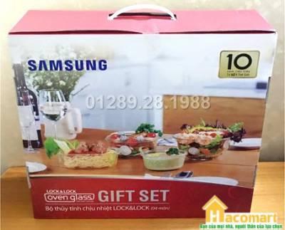 Bộ thủy tinh chịu nhiệt Lock&Lock 4 món Samsung