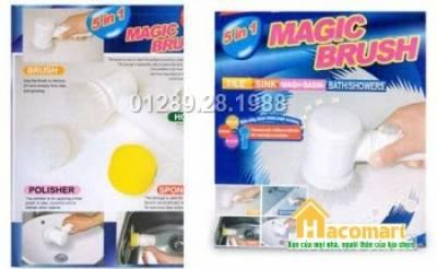 Máy làm sạch vết bẩn Magic Brush 5in1