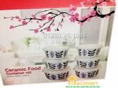 Bộ 6 bát thố gốm sứ Ceramic Donghwa quà tặng LG