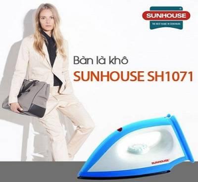 Bàn là khô Sunhouse SH1071