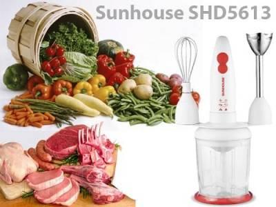 Máy xay sinh tố cầm tay Sunhouse-SHD5613