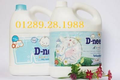 Nước giặt Dnee Thái Lan can 3,6 Lít