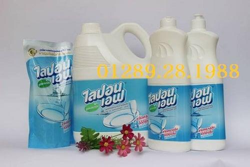 Nước rửa chén bát không mùi Lipon Thái Lan 3600ml
